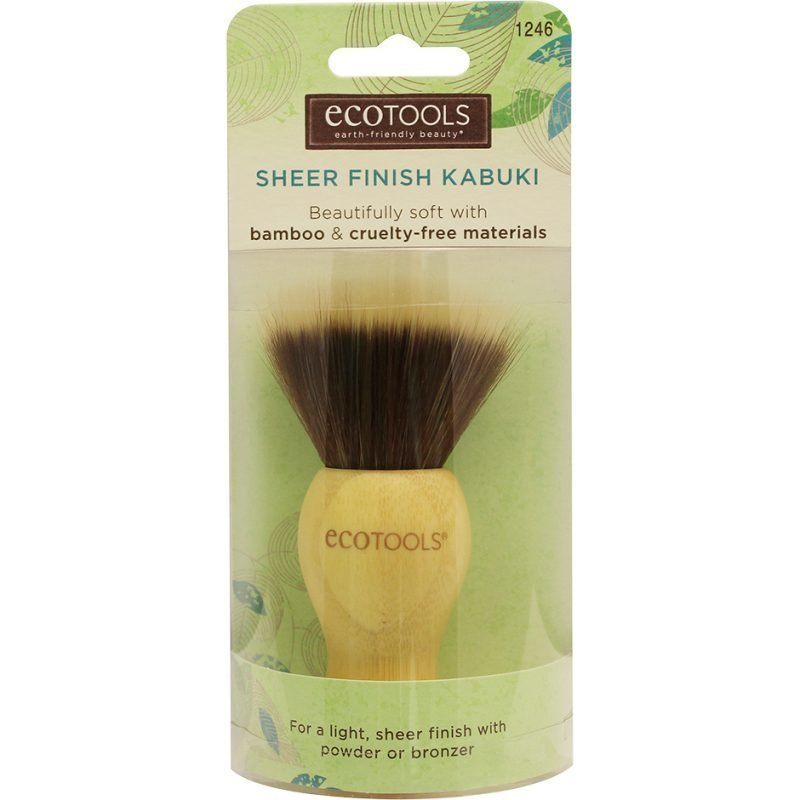 Eco Tools Bamboo Finishing Kabuki Brush
