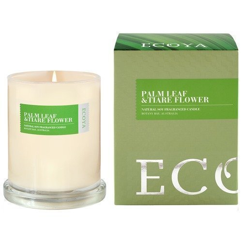 Ecoya Botanicals Palm Leaf & Tiare Flower Boxed Metro Jar