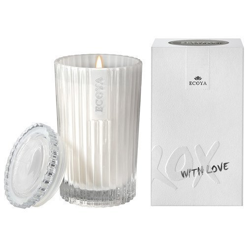 Ecoya Celebration Candle XOXO White Musk & Warm Vanilla Celebration Candle