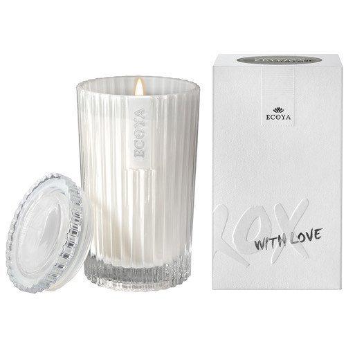 Ecoya Celebration Candle XOXO White Musk & Warm Vanilla Celebration Candle