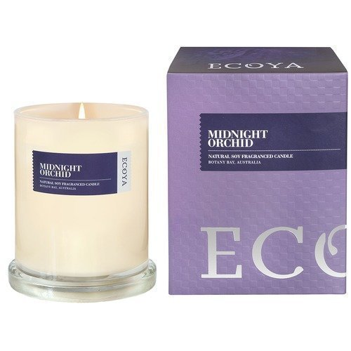 Ecoya Midnight Orchid Botanicals Boxed Metro Jar