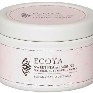 Ecoya Sweet Pea & Jasmine Travel Tin