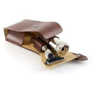 Edwin Jagger Travel Case Mach 3 Brown