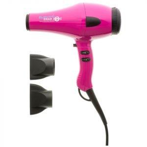 Electric Head Jog Nano Ceramic 6000 Hair Dryer Pink