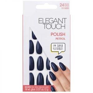 Elegant Touch Core Polish Nails Petrol