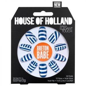 Elegant Touch House Of Holland V Nails Breton Babe