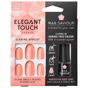 Elegant Touch Nail Saviour Glowing Apricot