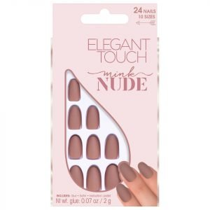 Elegant Touch Nude Collection Nails Mink