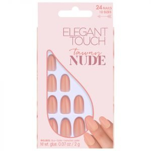 Elegant Touch Nude Collection Nails Tawny