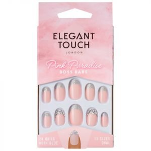 Elegant Touch Pink Paradise Nails Boss Babe