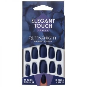 Elegant Touch Queen Of The Night Nails Midnight Creepin'