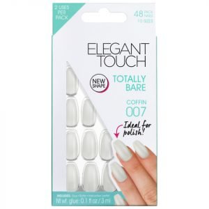 Elegant Touch Totally Bare Nails Coffin 007