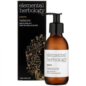 Elemental Herbology Earth Balance Bath And Body Oil 145 Ml