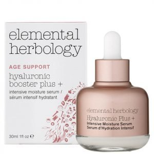 Elemental Herbology Hyaluronic Booster Plus+ Intensive Moisture Serum 1 Fl Oz