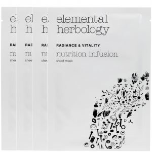 Elemental Herbology Nutrition Infusion Sheet Masks 4x25 G