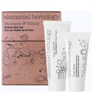 Elemental Herbology Radiance And Vitality Radiant Skin Set