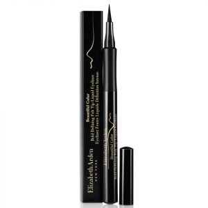 Elizabeth Arden Beautiful Colour Bold Defining Felt Tip Liquid Eye Liner Seriously Black 1.2 Ml