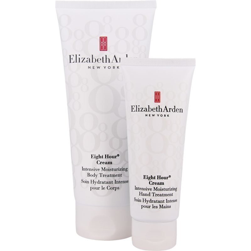 Elizabeth Arden Eight Hour Cream Duo Body Cream 200ml Hand Treatment 75ml