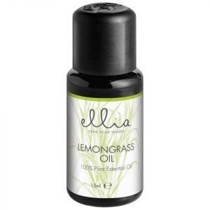 Ellia Aromatherapy Essential Oil Mix For Aroma Diffusers Lemongrass 15 Ml