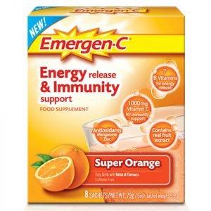 Emergen-C Orange Pack 8 Servings