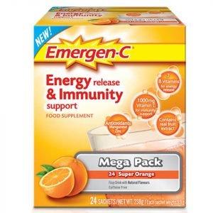 Emergen-C Orange Pack Mega Pack 24 Servings