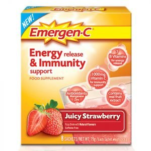 Emergen-C Strawberry Pack 8 Servings
