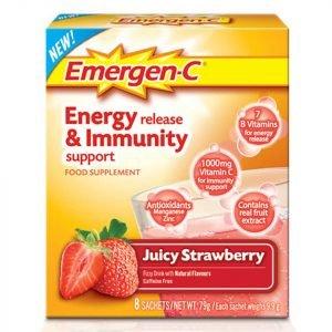 Emergen-C Strawberry Pack 8 Servings