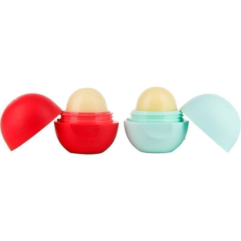 Eos Smooth Sphere Duo Lip Balm x 2