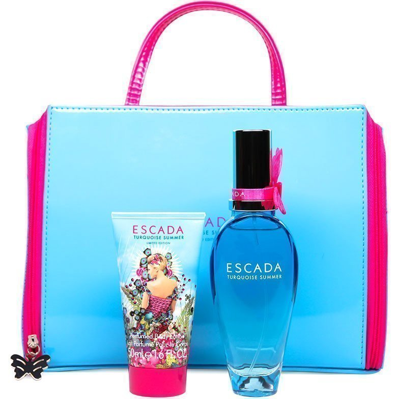 Escada Turquoise Summer Giftset EdT 50ml Body Lotion 50ml