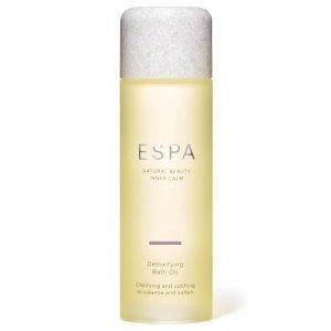 Espa Detoxifying Bath Oil 100 Ml