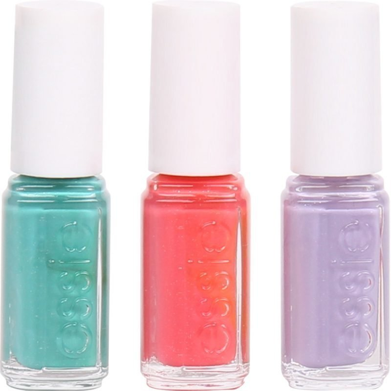 Essie 3 Pieces Set Noughty Nautical 5ml Sunday Funday 5ml Full Steam Ahead 5ml