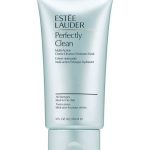 Estée Lauder Perfectly Clean Multi Action Creme Cleanser/Moisture Mask Puhdistusvoide 150 ml