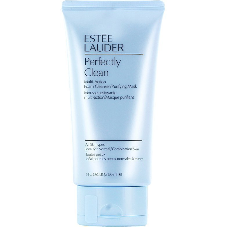 Estée Lauder Perfectly CleanAction Foam Cleanser/Purifying Mask (Normal/Comb Skin) 150ml
