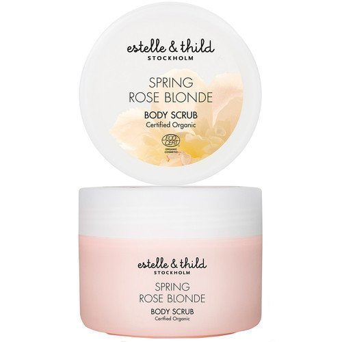 Estelle & Thild Spring Rose Blonde Body Scrub