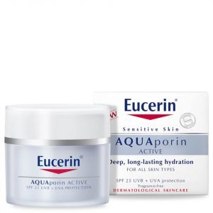 Eucerin® Aquaporin Active Spf 25 Uvb + Uva Protection 50 Ml