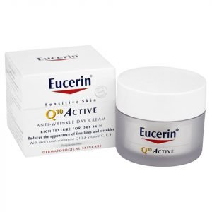 Eucerin® Sensitive Skin Q10 Active Anti-Wrinkle Day Cream 50 Ml