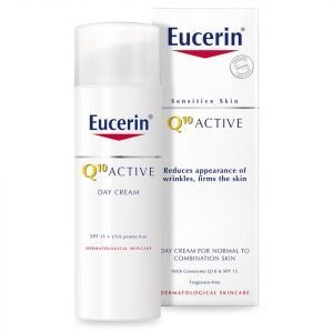 Eucerin® Sensitive Skin Q10 Active Anti-Wrinkle Day Cream Spf 15 50 Ml