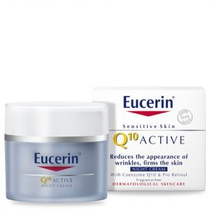 Eucerin® Sensitive Skin Q10 Active Anti-Wrinkle Night Cream 50 Ml