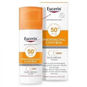 Eucerin® Sun Protection Face Sun Crème Tinted Spf 50+ 50 Ml