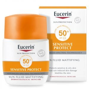 Eucerin® Sun Protection Sun Fluid Mattifying Face Spf50+ Very High 50 Ml