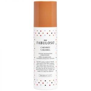 Evo Fabuloso Colour Intensifying Conditioner Caramel 250 Ml