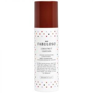 Evo Fabuloso Colour Intensifying Conditioner Chestnut 250 Ml