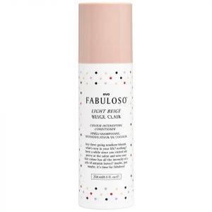Evo Fabuloso Colour Intensifying Conditioner Light Beige 250 Ml