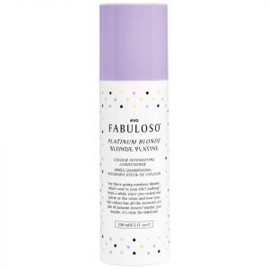 Evo Fabuloso Colour Intensifying Conditioner Platinum Blonde 250 Ml