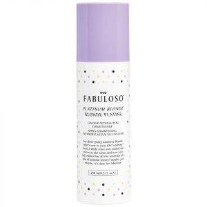 Evo Fabuloso Colour Intensifying Conditioner Platinum Blonde 250 Ml