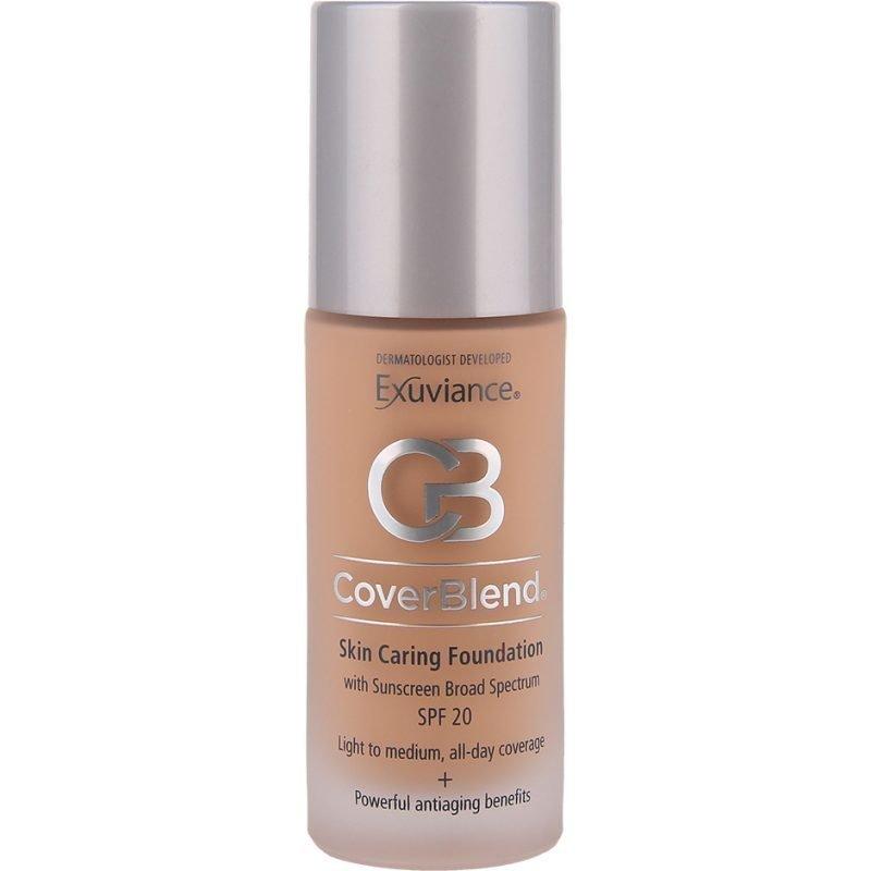 Exuviance CoverBlend Skin Caring Foundation Blush Beige SPF15 30ml