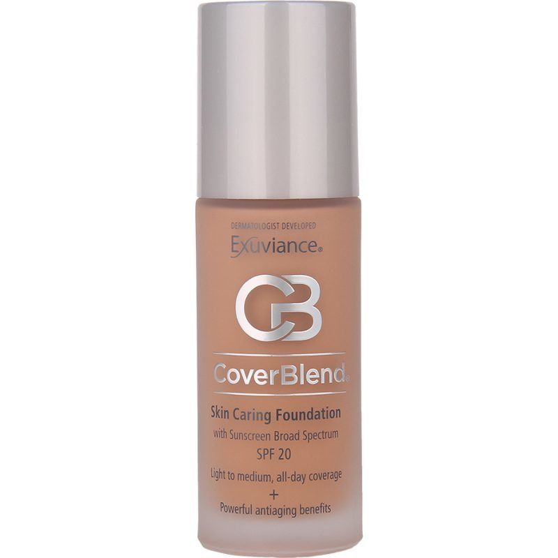 Exuviance CoverBlend Skin Caring Foundation Desert Sand SPF20 30ml