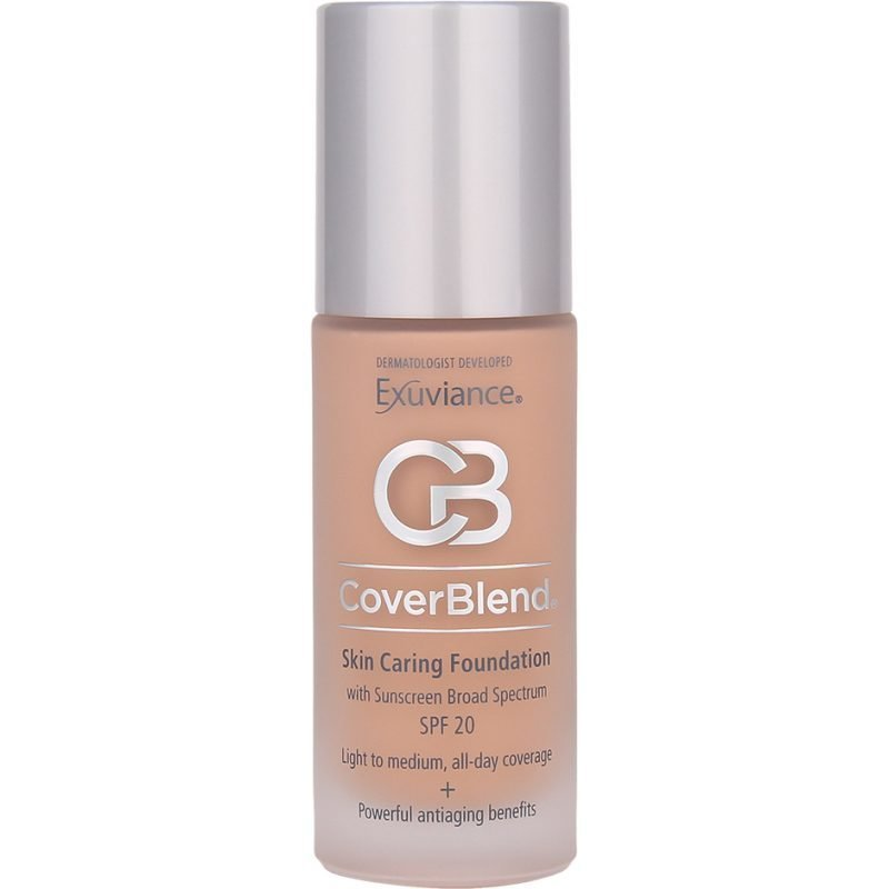 Exuviance CoverBlend Skin Caring Foundation Honey Sand SPF20 30ml
