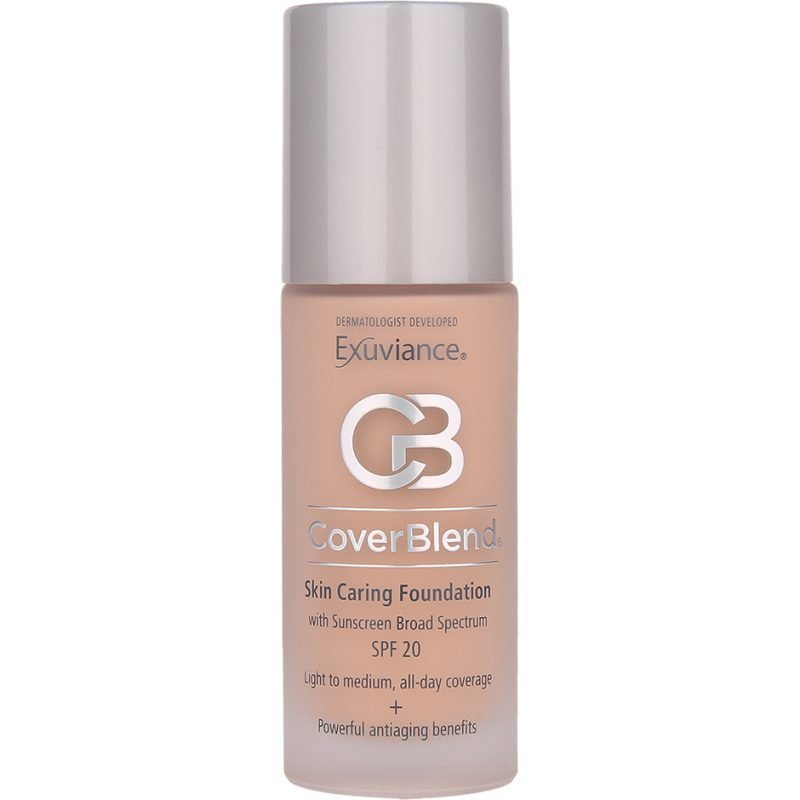 Exuviance CoverBlend Skin Caring Foundation True Beige SPF20 30ml