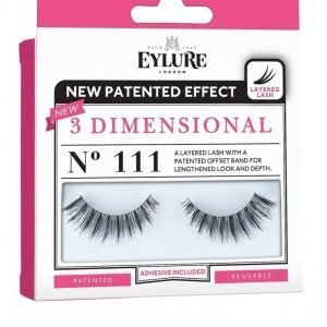 Eylure 3-D Lashes No. 111 Irtoripset Musta